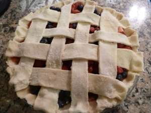 Pie with lattice tp[